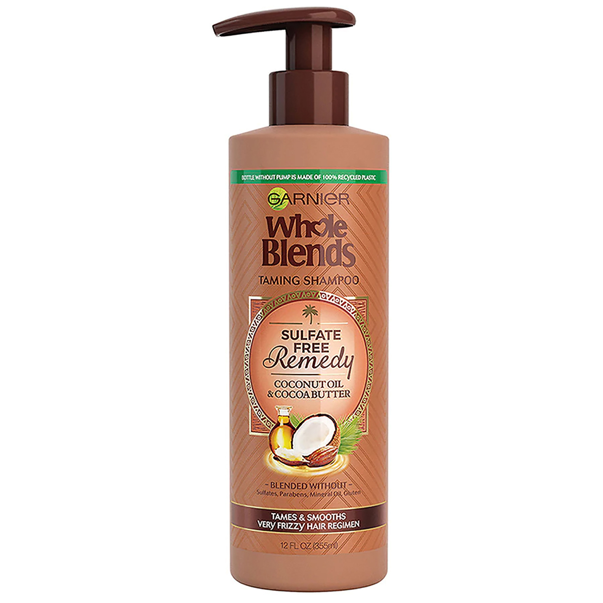 Garnier Whole Blends Sulfate Free Remedy Coconut Oil Shampoo