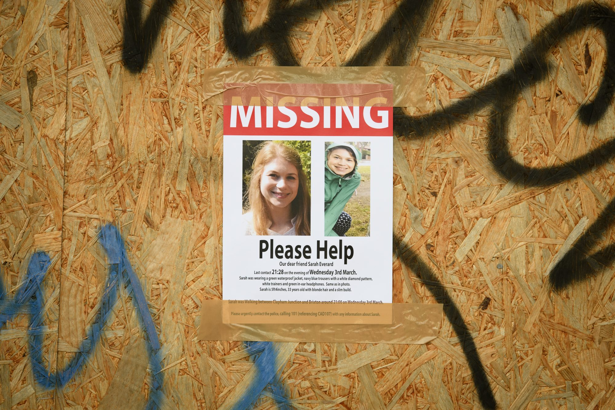 Missing poster for Sarah Everad