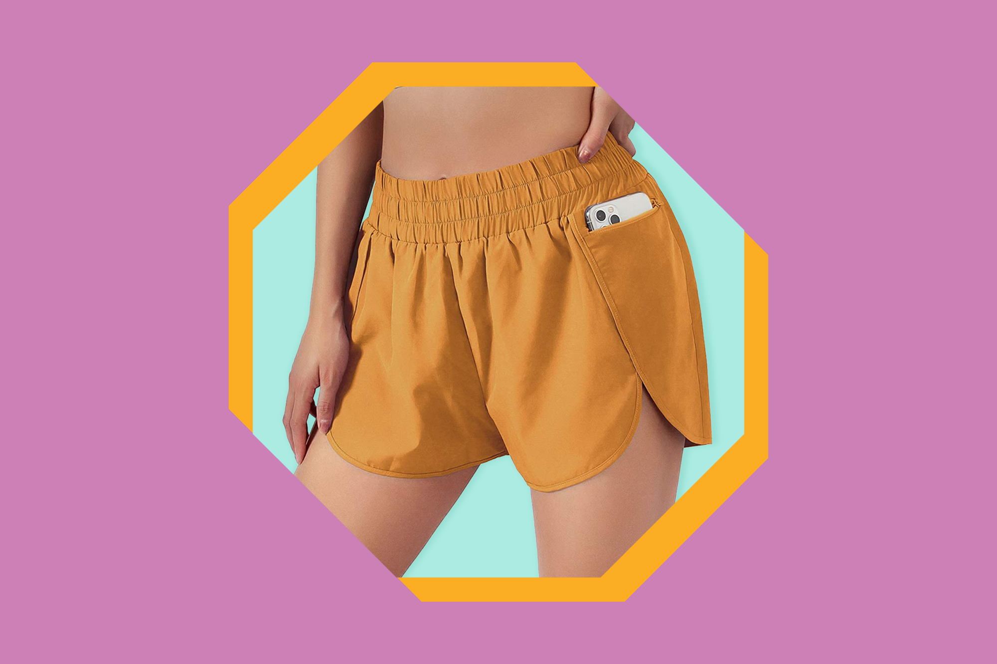 """Amazon Shoppers Are Giving Up Lululemon for These """"Flattering"""" $25 Shorts"""