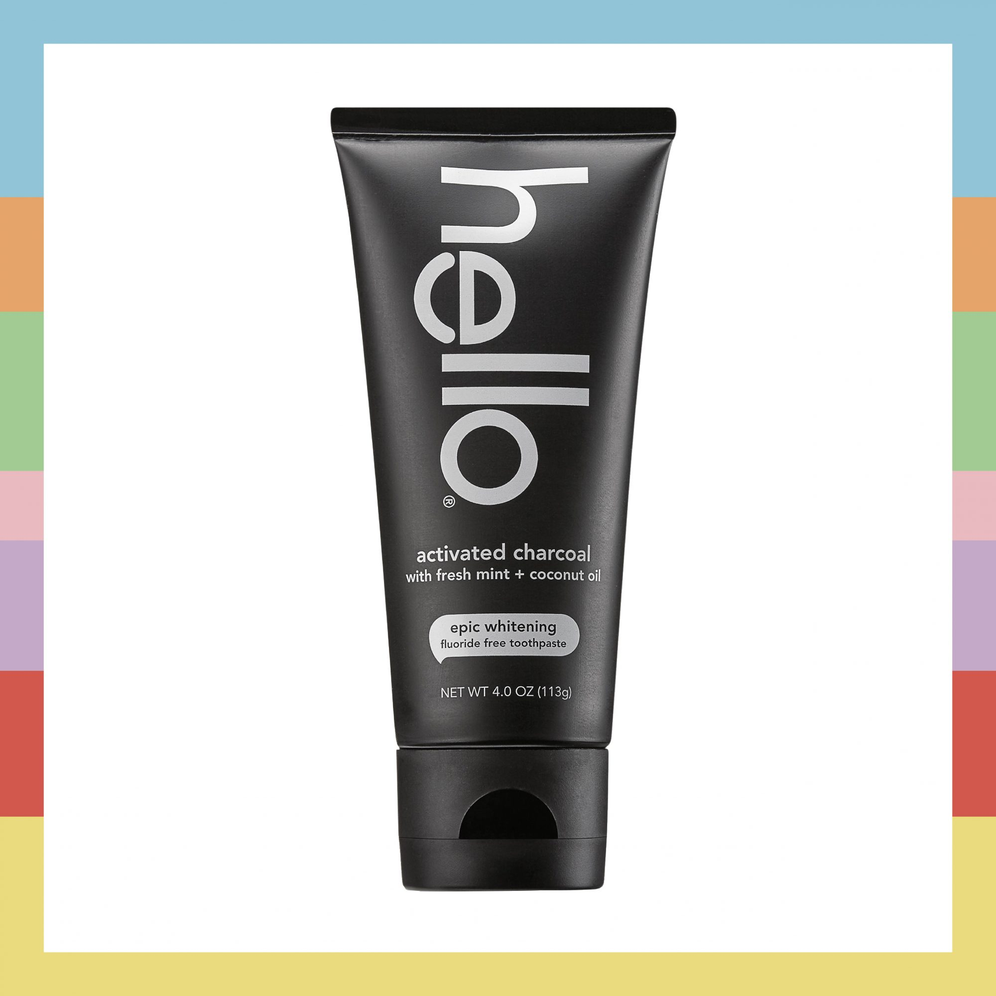 Hello Activated Toothpaste Shape Beauty Lab Box