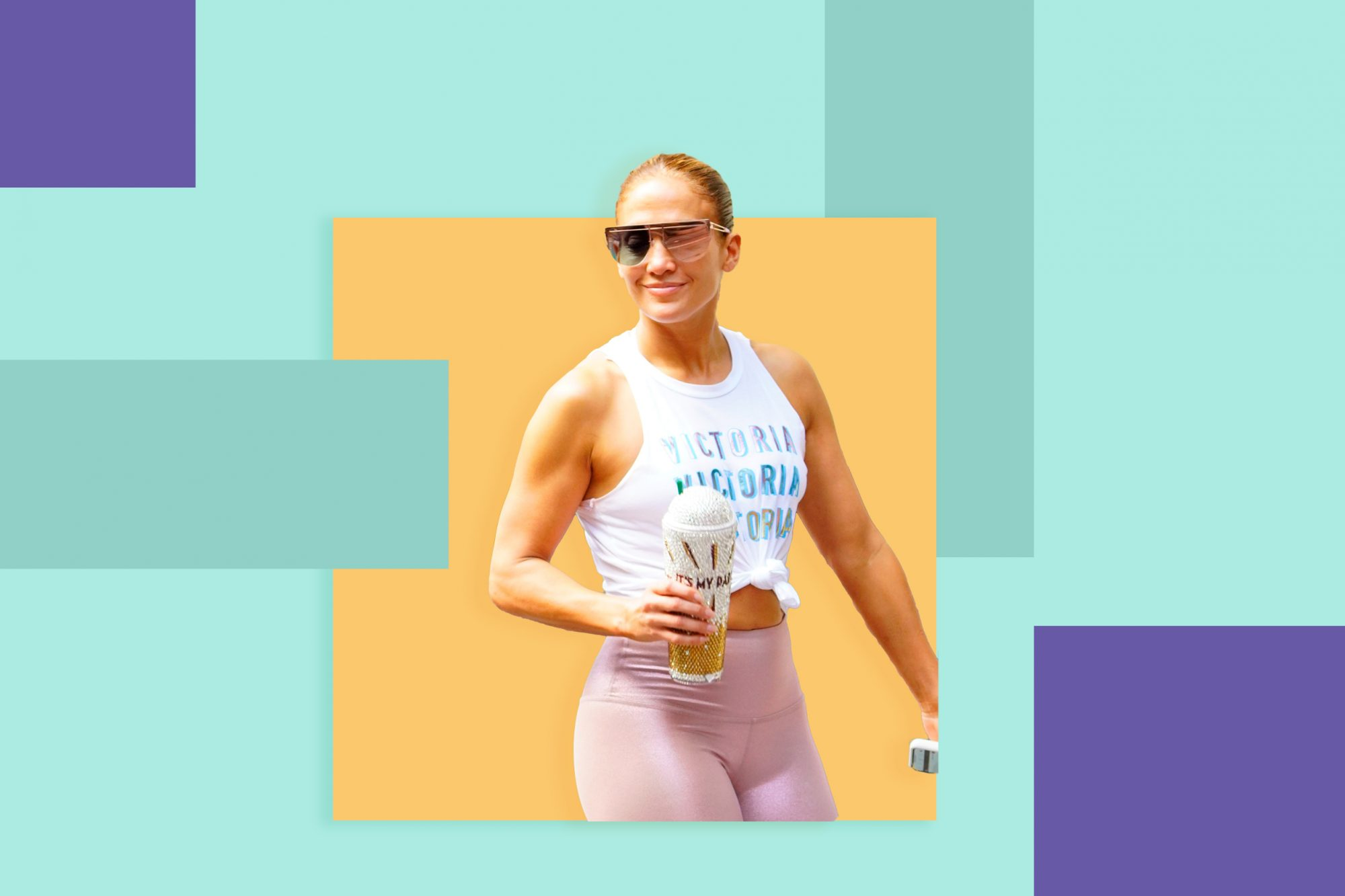 Jennifer Lopez's Go-To Butt-Lifting Leggings Are 20% Off Right Now