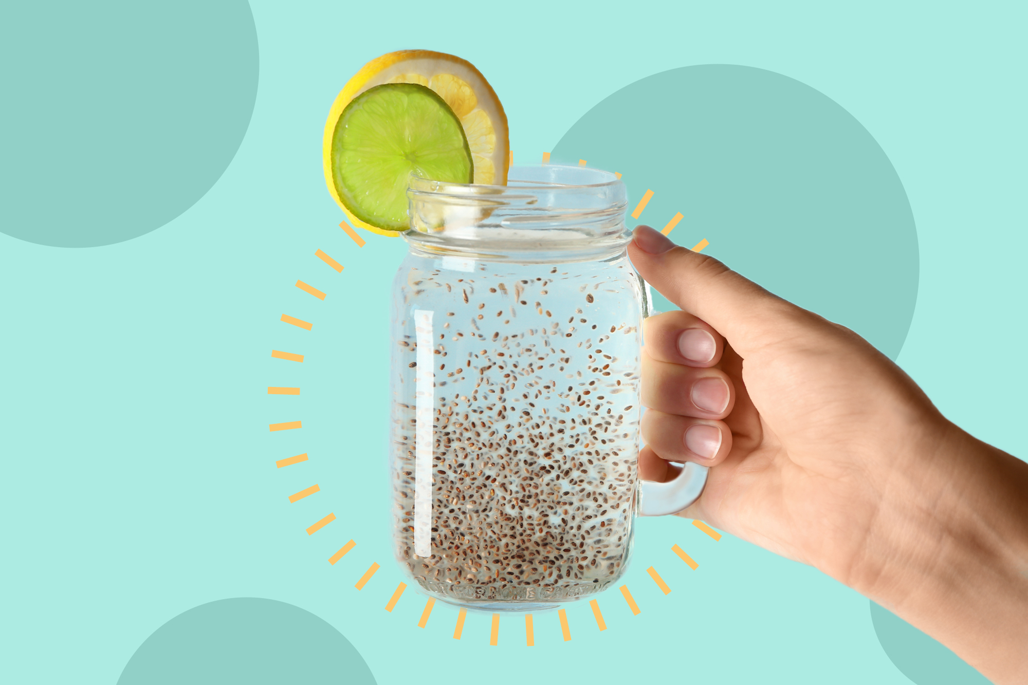 Is the TikTok Chia Seed Water Trend Actually Safe?
