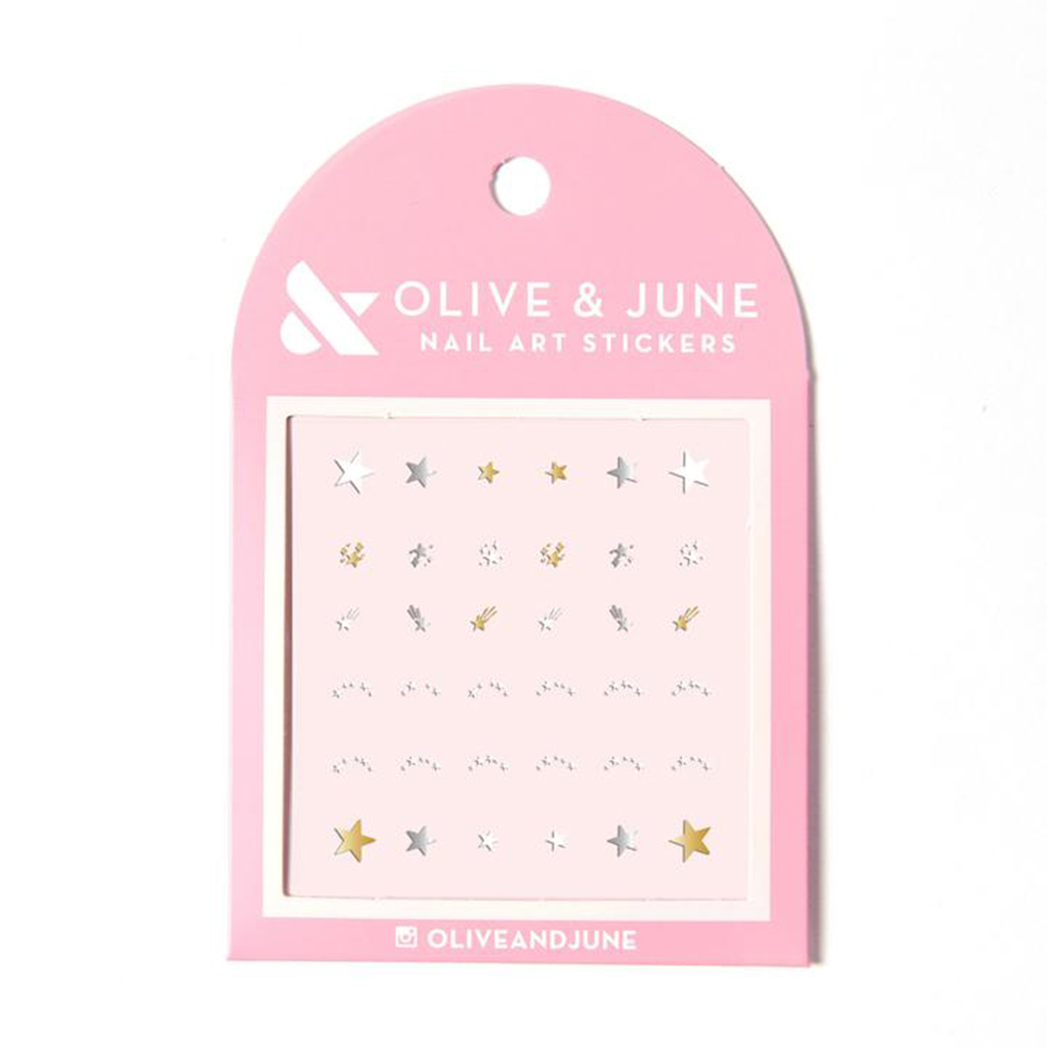 Olive & June Lucky Stars Nail Art Stickers