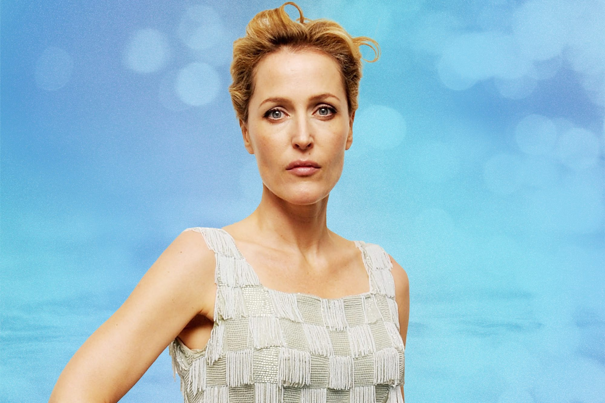 Gillian-Anderson-Swears-This-Gel-Moisturizer-Hydrates-Her-Skin-Better-Than-Fancy-Creams-GettyImages-129184194