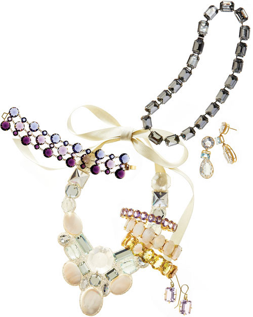 Jewelry with Colorful Crystals