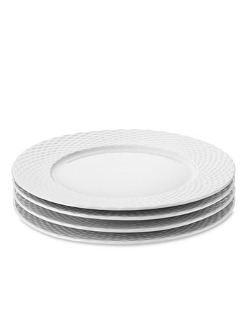 Basketweave Salad Plates