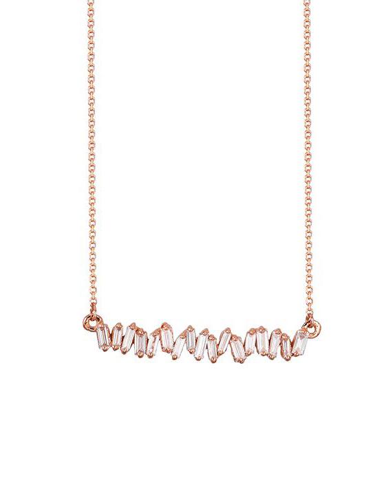 18-Karat Diamond Collar Necklace