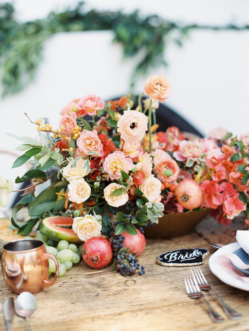 fruit and veggie centerpieces ashley slater