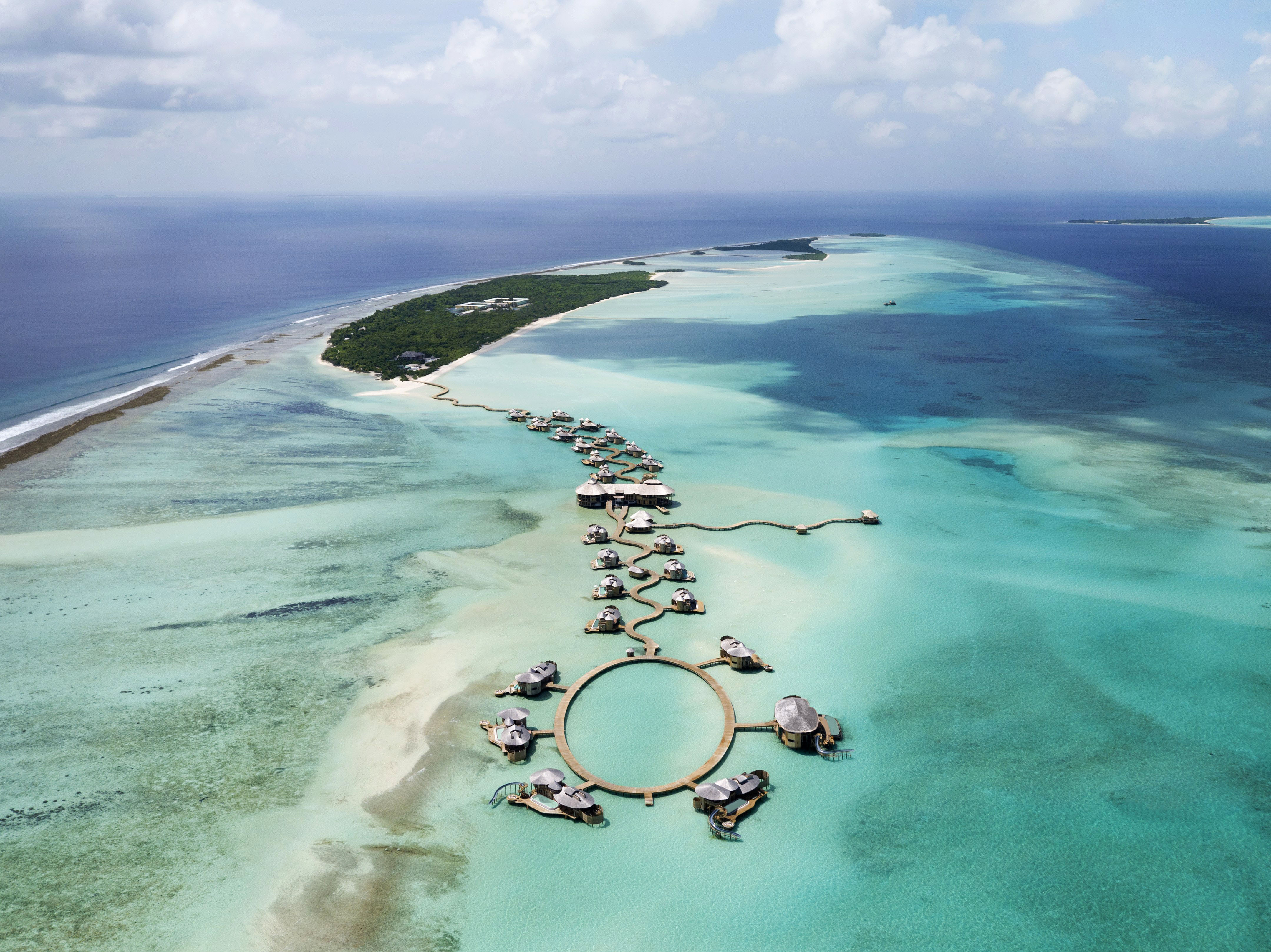 best beach honeymoons soneva jani maldives