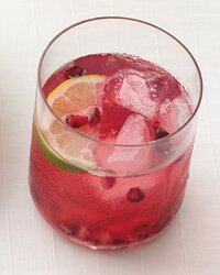 Pomegranate Caipiroska