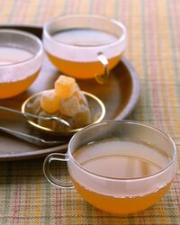 Ginger Apple Cider with Brandy