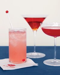 Sweet Pink and Red Drinks