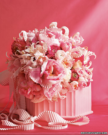 A Brilliant Pink Bouquet