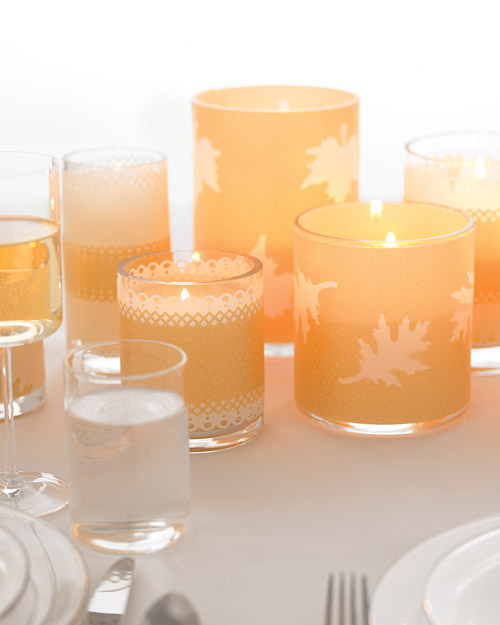 Craft Punch Votives