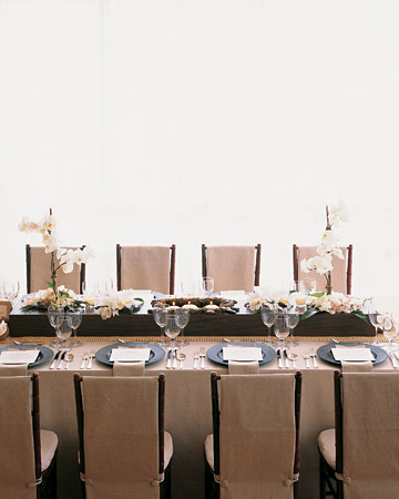 The Tables and Centerpieces