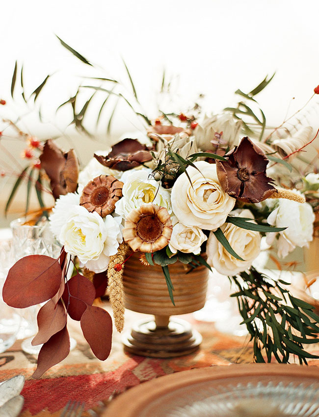 Dried Flower Centerpiece