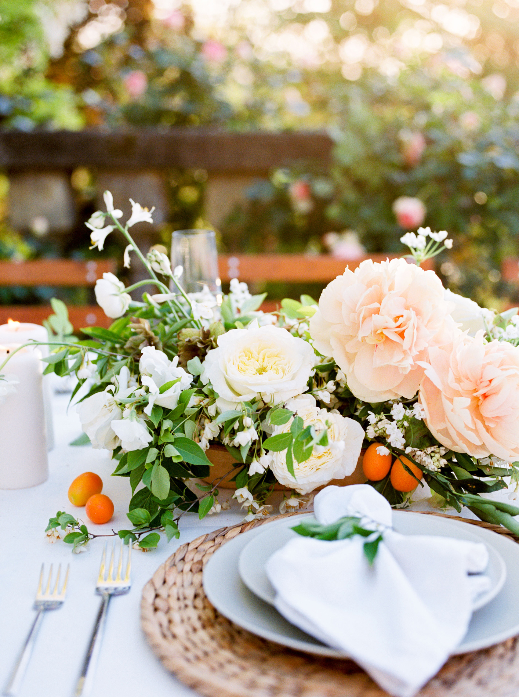 Orange Blossom Centerpiece