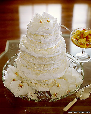 Tropical Coconut Pavlova