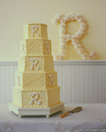 French Orange Pound Wedding Cake