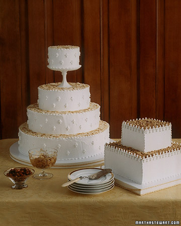 Lady and Lord Baltimore Wedding Cakes