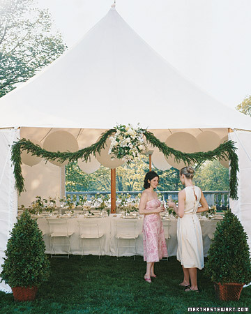 A Decorative Tent