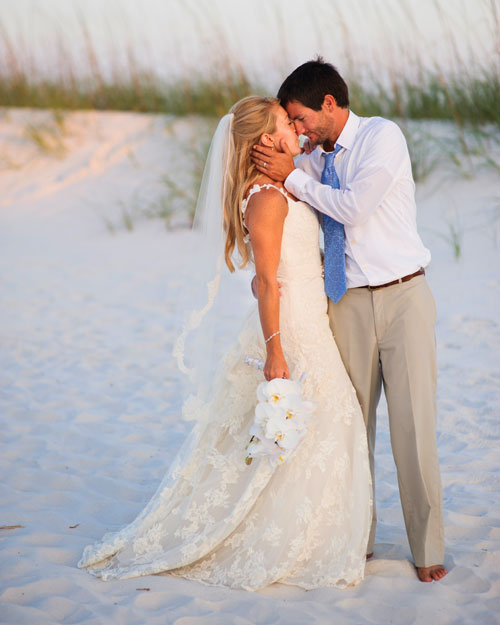 A Vibrant Wedding On The Beach In Florida Martha Stewart Weddings