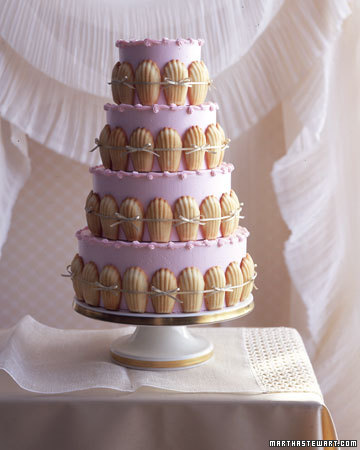 Madeleine Wedding Cake