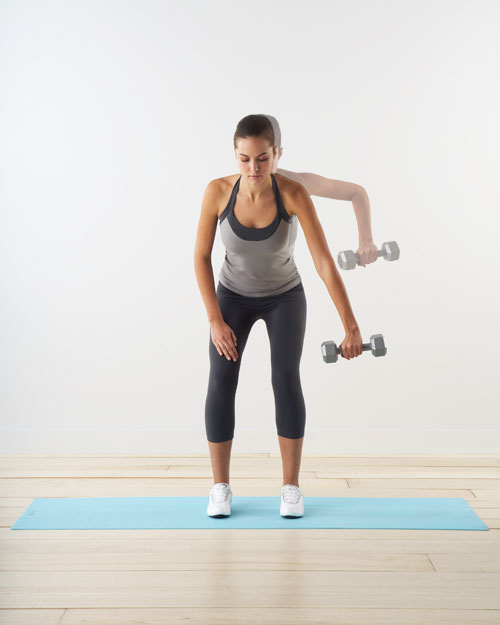 Wide row: for arms and back