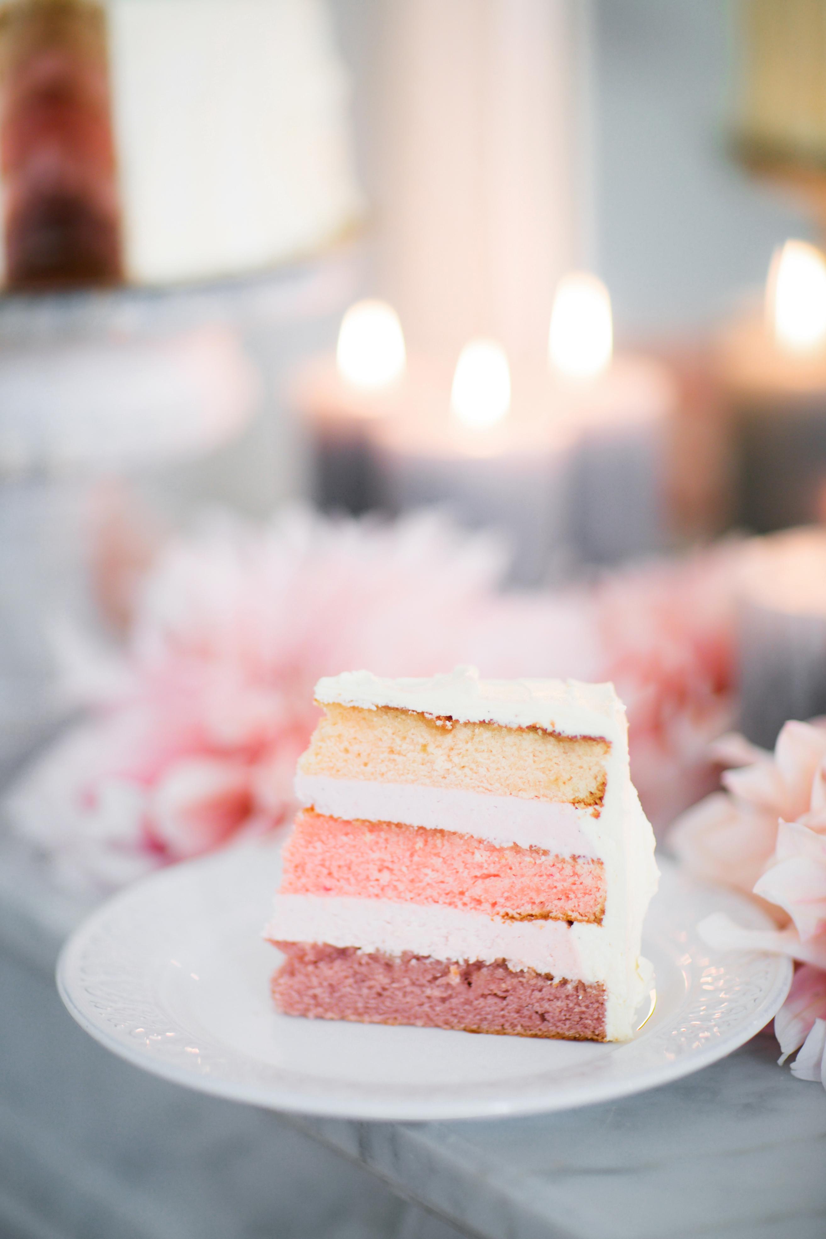 ombre cakes le secret daudrey