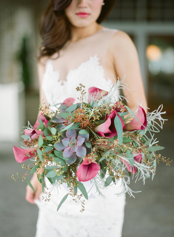 unexpected wedding bouquet