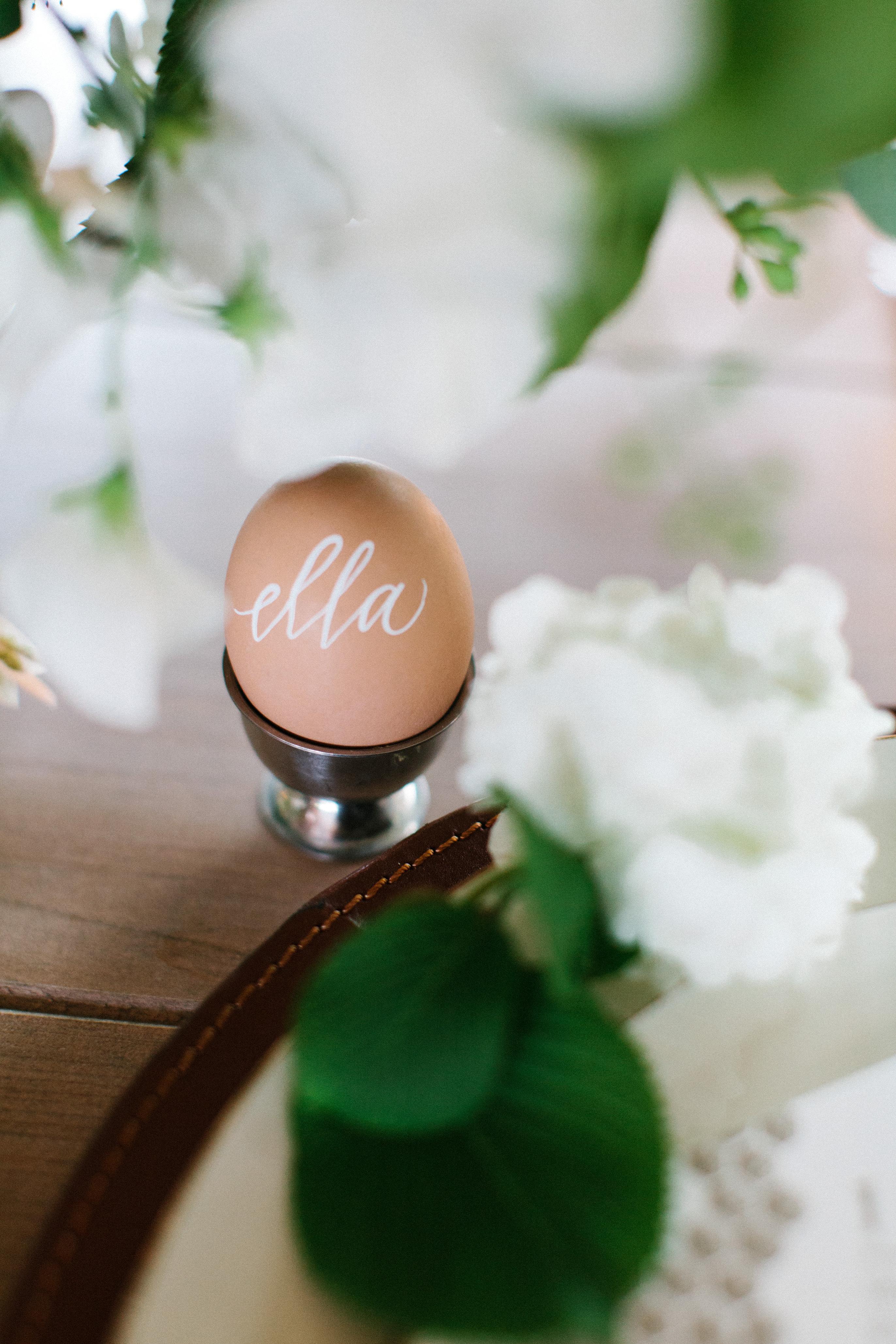 wedding place egg