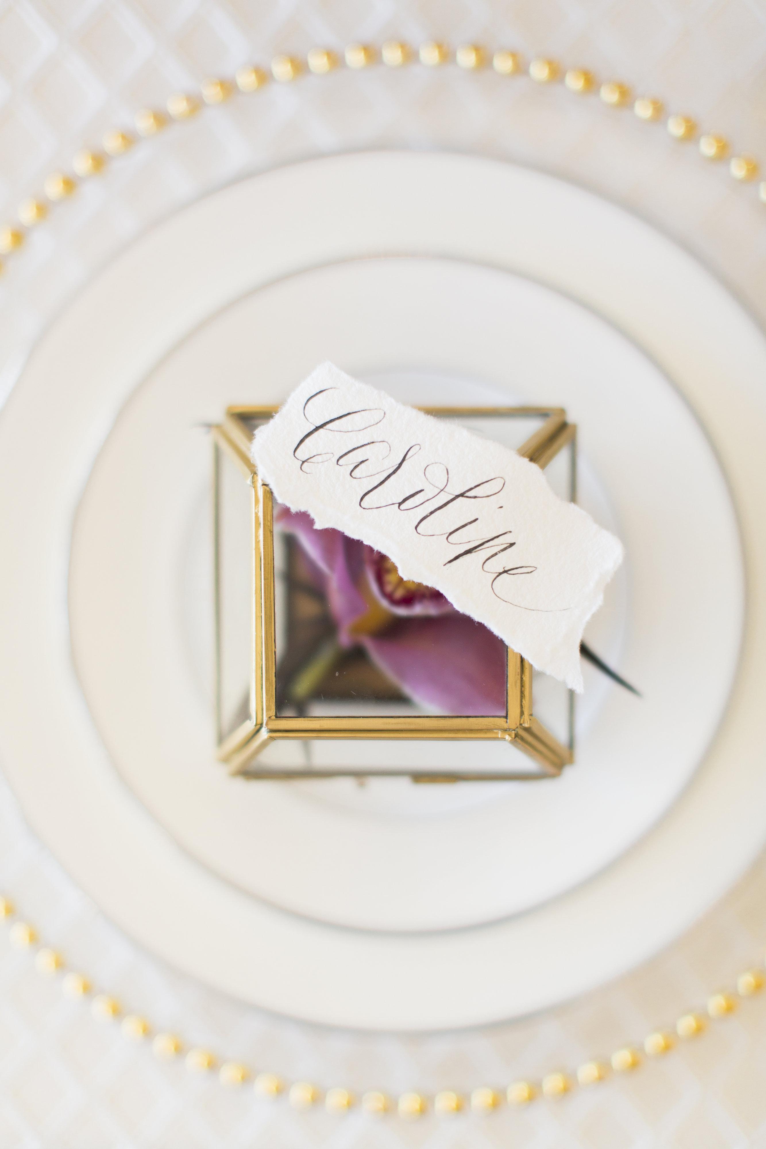 wedding place card bloom box