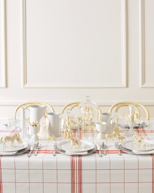 Swedish-Chic Wedding Table Setting