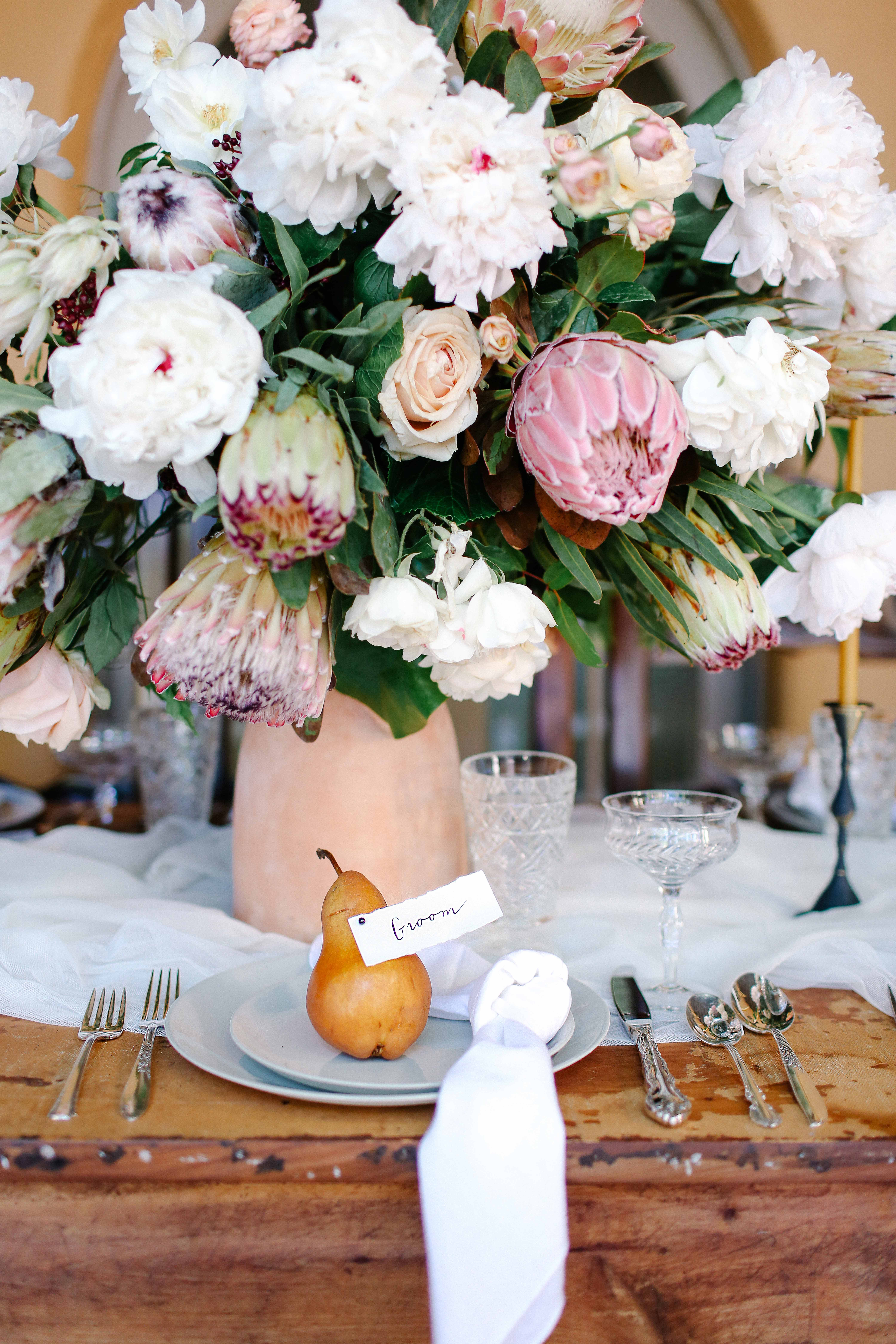 peony centerpieces julie cahill