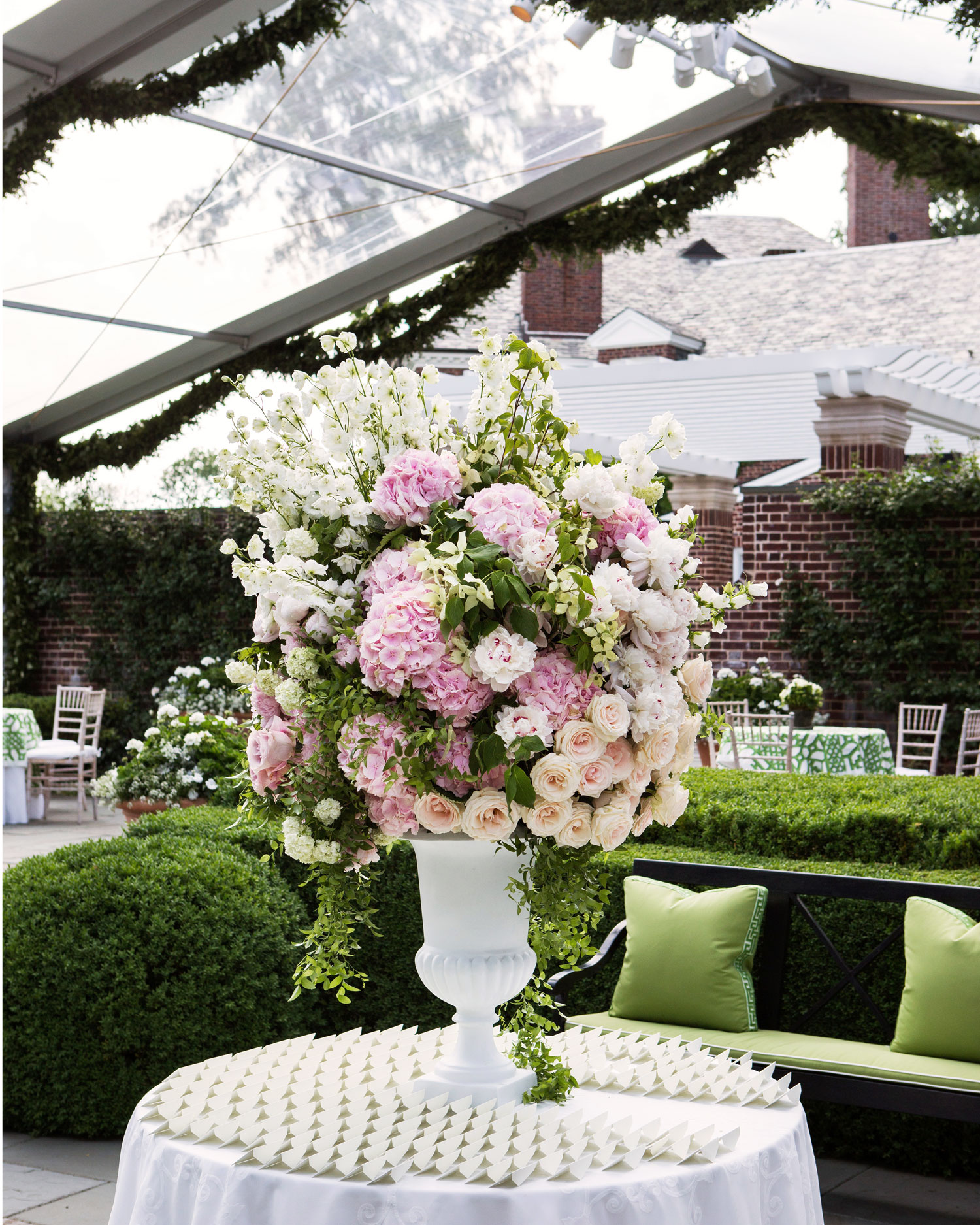 Overflowing Centerpiece