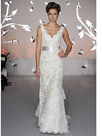 edfaed42f1aa1 Modern Lace Wedding Dresses from Spring 2012 Bridal Fashion Week ...