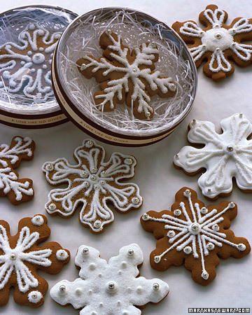 Snowflake Cookie Favors