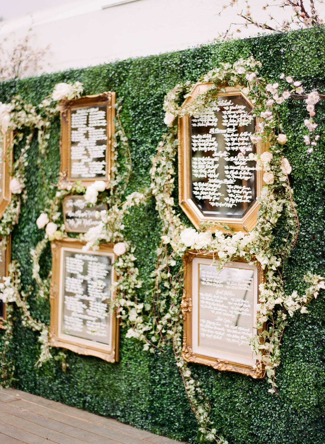 shannon jon wedding seating chart