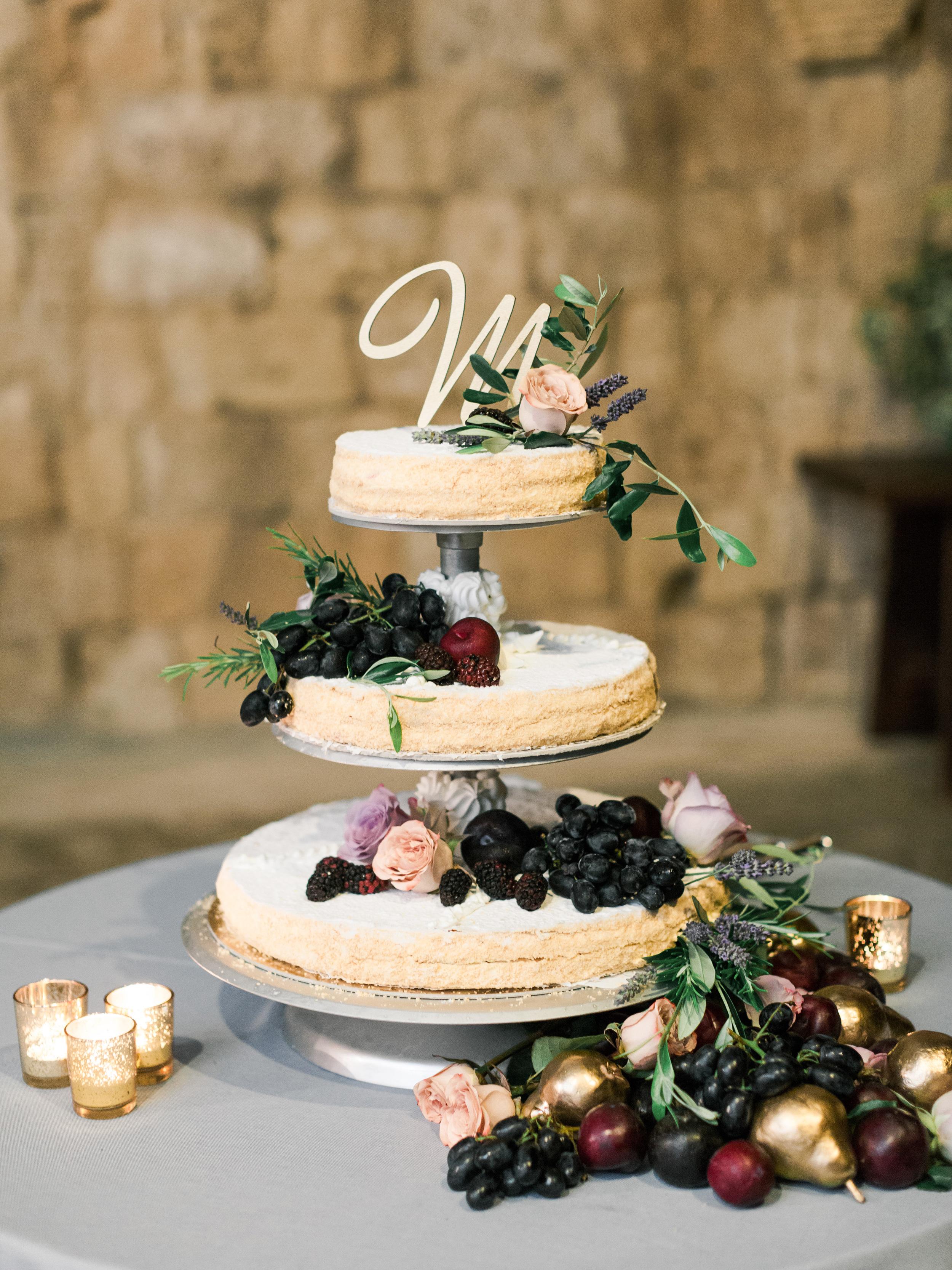 amanda patrick wedding cake