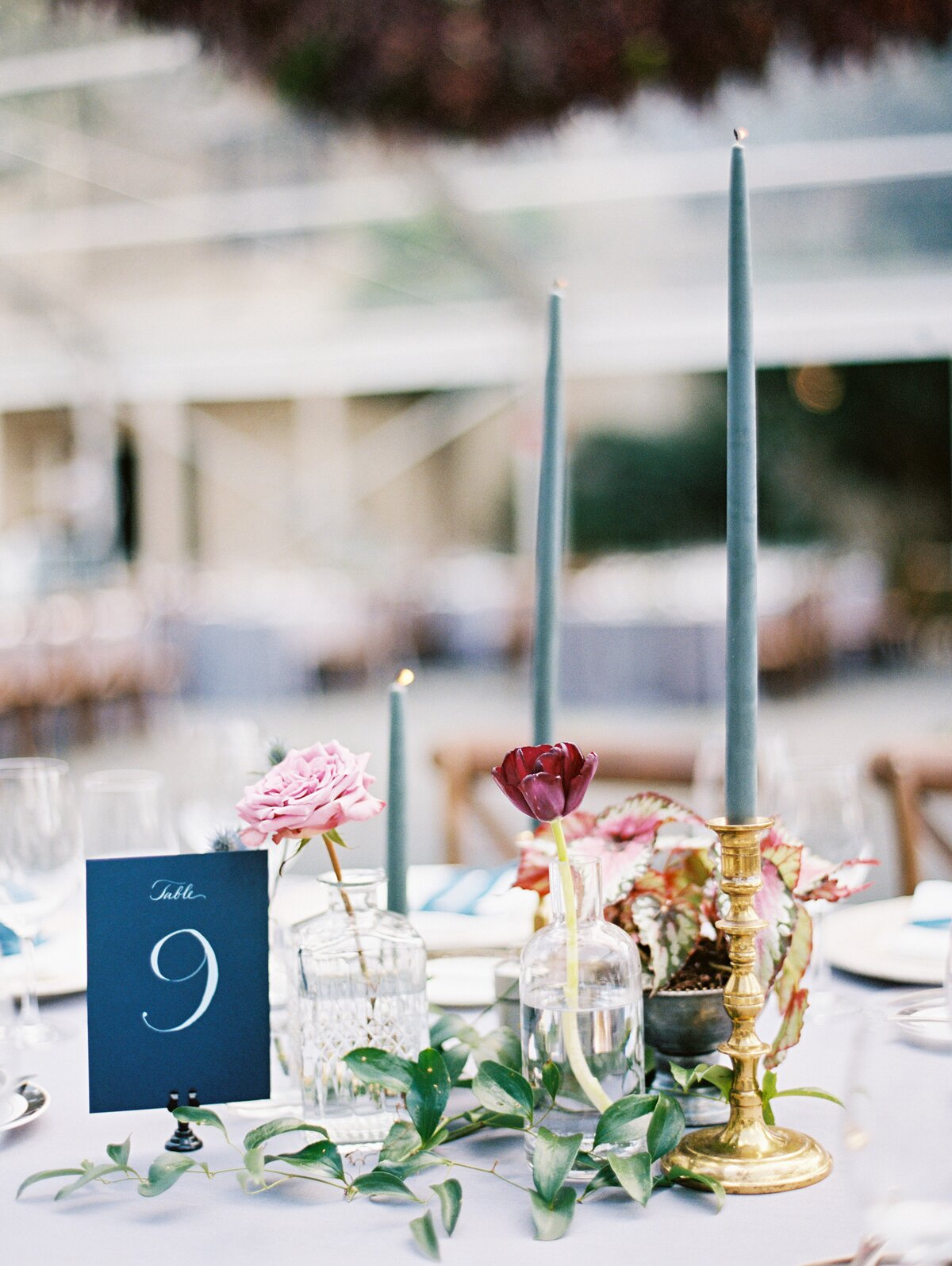 Jewel-Toned Tables