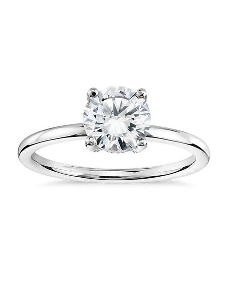 engagement ring settings prong diamonds jewelry