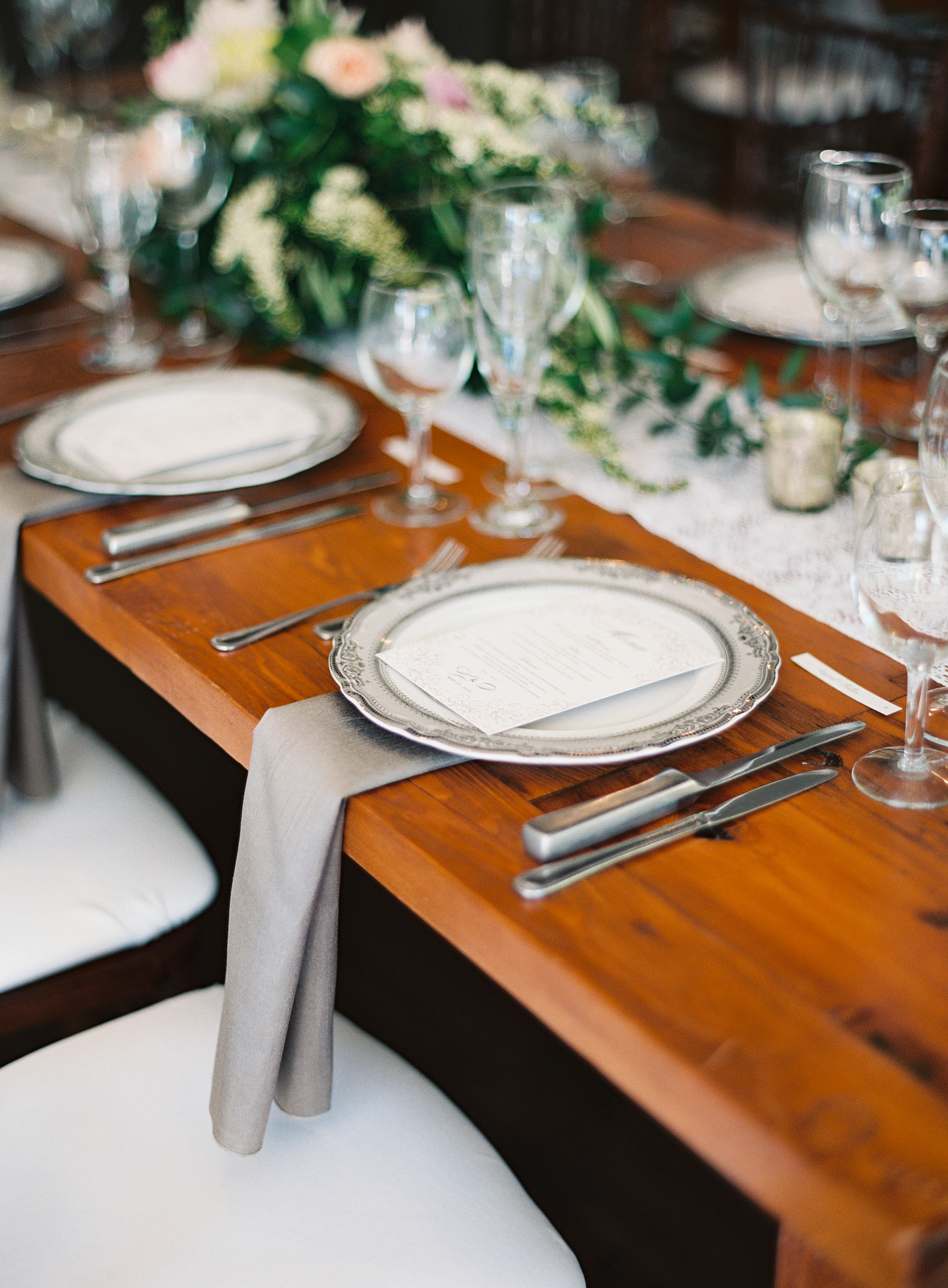 Silver Tablescapes