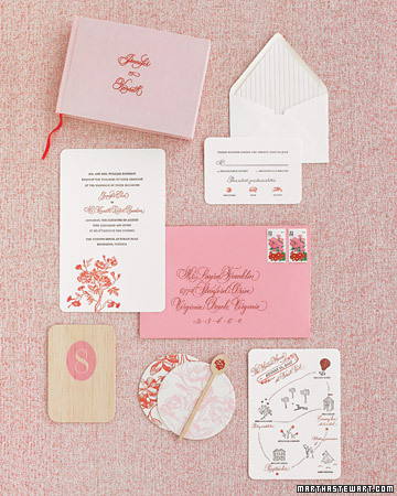 Pink and Poppy Stationery