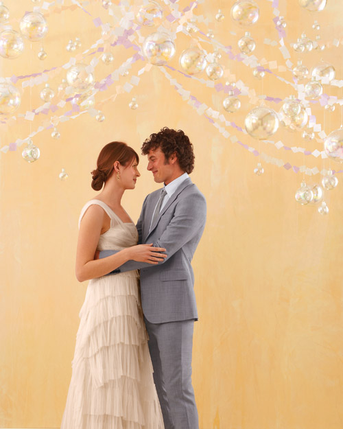 Opalescent Ceremony or Reception Decor