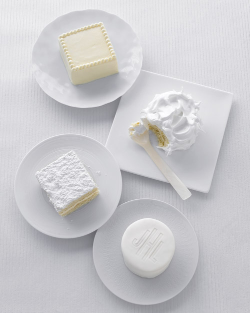 Miniature White Cakes
