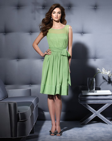 Light-Green Short Dress