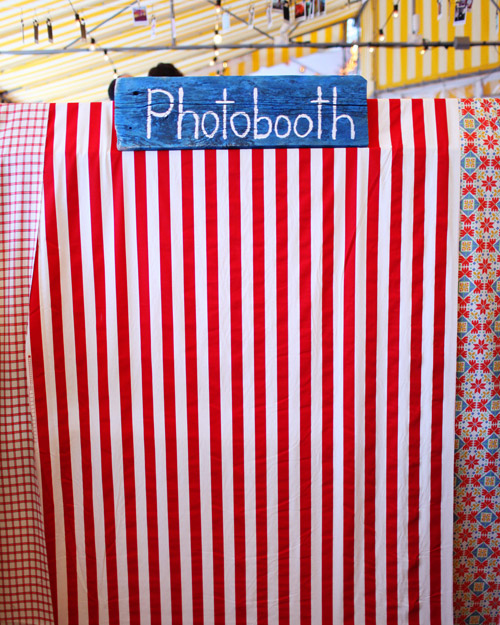 Handmade Photo Booth