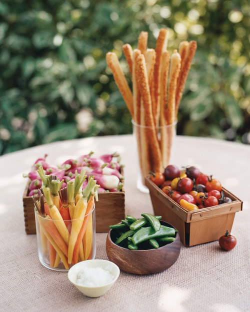 Fresh Vegetable Centerpieces