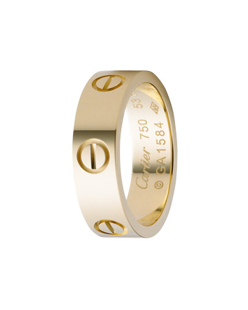 LOVE Ring, Yellow Gold