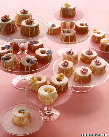 Miniature Angel Food Cakes